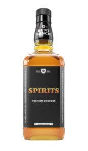 Spirits bottle